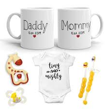 2019 Est Pregnancy Gift New Mommy And Daddy Est 2019 11 Oz Mug Heart Set With