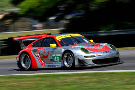 ALMS GT Trio Hit 100 Series Starts At Lime Rock Checkered FlagLimesRocks Motor