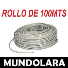 Bobina Cable Utp Cat 5e 100 Mts Cctv Red Seguridad Lan Rj45 Bs