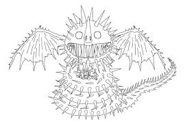 How To Train Your Dragon Zippleback From Coloring Pages