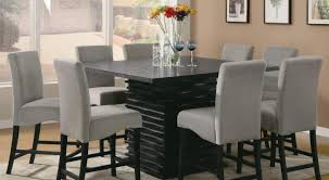 Dining Room Chair Covers With Arms by Tall Dining Room Chairs High Table Set Black Target Counter Height