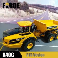 100 Articulating Dump Truck 112 6x6 Articulated Dump Truckin RC S From Toys Hobbies On