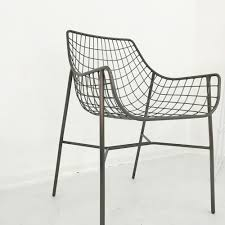 Outdoor Solid Metal Wire Frame Patio Chair,Black Outdoor Patio Furniture  Dining Chair - Buy Wire Chair Manufacturers,High Quality Dining Chair,Wire  ...