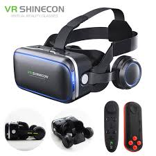 VR Headset Shinecon 6 0 Pro Stereo Virtual Reality Smartphone 3D