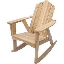 Stonegate Designs Wooden Adirondack Rocking Chair — Unfinished Black Palm Harbor Wicker Rocking Chair Abasi Porch Rocker Unfinished Voyageur Twoperson Adirondack Appalachian Style Chairs Havenside Home Del Mar Acacia Wood And Side Table Set Natural Outdoor Log Lounge Companion For Garden Balcony Patio Backyard Tortuga Jakarta Teak Palmyra Gliders Youll Love In Surfside Unfinished Childrens Rocking Chair Malibuhomesco Caan