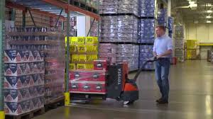 100 Walkie Pallet Truck Toyota Electric Jack Official Video YouTube
