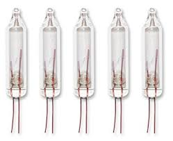 2 5 volt mini replacement light bulbs for