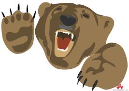 Brown Bear Clipart Angry China cps