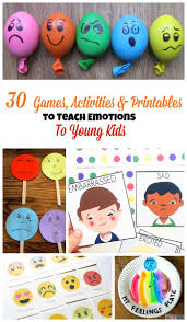 Emotions Are A Tricky Thing For Young Children And Toddlers Theyre Overwhelming Hard To Understand Playing Emotion Games With Your Little One Will