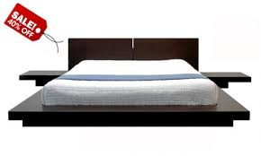 Attractive King Platform Bed Frame Ikea Captivating Platform Bed