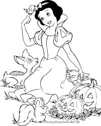 Download Coloring Pages Disney Halloween For Kids