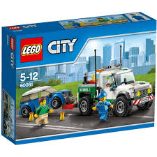 LEGO City Pickup Tow Truck 60081 - £18.00 - Hamleys For Toys And Games Review Lego 60132 Service Station Custom Vehicle Heavy Duty Wrecker Tow Truck Youtube City Set 60056 Lego 4635 Fun With Vehicles I Brick City Amazoncom Great Pickup 60081 Custombricksde Technic Model Custombricks Moc Instruction Toys Games Complete Town Minifigure Car 42070 All Terrain De Toyz Shop