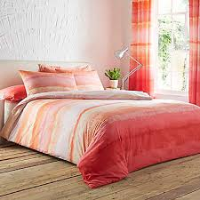 Ombre Coral Duvet Cover & Standard Pillowcase Set by Kaleidoscope