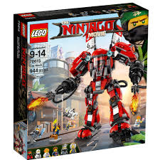 LEGO Ninjago Movie Fire Mech 70615 Building Set (944 Pieces ...