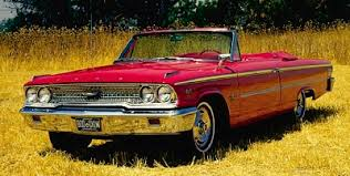 Classic Cars Of The 1960s Prev NEXT 1963 Ford Galaxie 500XL Convertible Front Three Quarter View