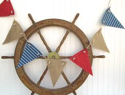 Nautical Style Living Room Furniture by Nautical Decorations With Two Blue Canoe Paddle The Love To The