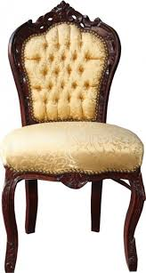casa padrino barock esszimmer stuhl gold muster braun barock möbel antik stil