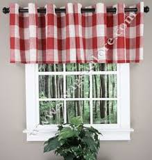 White Kitchen Curtains With Red Trim by Black And White Valance With Red Trim Kayla House Pinterest
