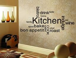 Wonderful Kitchen Wall Design With Three Bottles Of The Booklet