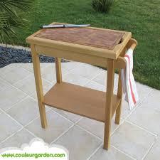 billot cuisine bois meuble billot de cuisine en bois debout avec tiroir de rangement