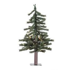Pre Lit Pencil Christmas Trees by Artificial Christmas Trees Prelit Table Top Artificial Christmas