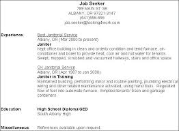 Janitorial Resume Sample Custodian Unique Hospital Page Best Example Resumes Janitor Project Manager