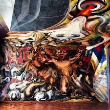 David Alfaro Siqueiros Murales by Ilustre Municipalidad De Chillán