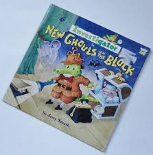 Childrens Halloween Books From The 90s by 1 Vintage Childrens Investigator Book New Ghouls On The