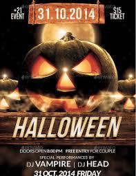 Free Halloween Flyer Templates by Halloween Flyer Template
