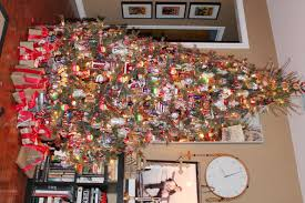 Saran Wrap Christmas Tree With Ornaments by Christmas Tree The Cavender Diary
