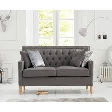 100 2 Sofa Living Room Casa Bella Grey Fabric Seater