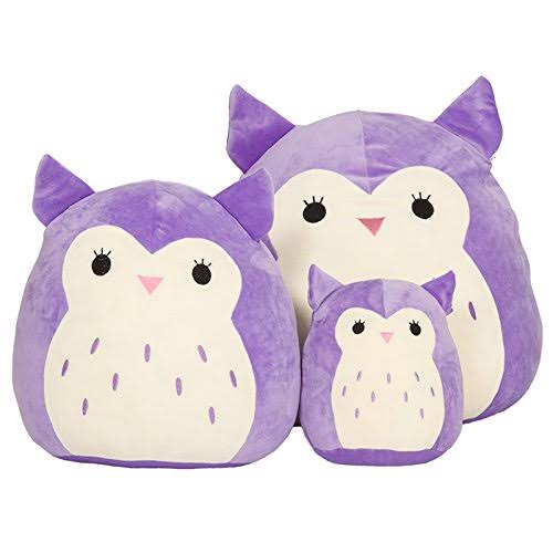 Kellytoy Squishmallow Holly the Purple Owl Super Soft Plush - 13""