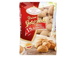 unsere goldstücke mini baguettes