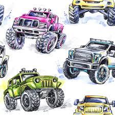 Watercolor Seamless Pattern Cartoon Monster Trucks. Colorful ... Storm Events Presents Robbie Gordons Stadium Super Trucks Laser Pegs 6in1 Monster Truck Walmartcom Amazoncom Bigfoot Racing Kids Room Wall Decor Art Grave Digger Wallpaper Wallpapersafari Omm Design Moon Poster Baby And Prints Blaze And The Machines Party Majors Related Official Old School Pic Thread Archive Page 11 Posters Movie 1 Of 4 Imp Awards Index Igespanorama 156 New Dates Set For The Jungle Book Petes Dragon