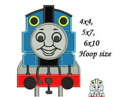 Thomas The Train Pumpkin Designs by Train Applique Etsy