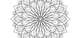 Flower Coloring Pages Packed With Flowers For Adult Simple
