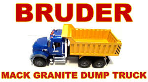 BRUDER Mack Granite Dump Truck #02815 Toy Video Review [HD] - YouTube Bruder Mack Granite Tckbruder Mack Roll Off Container Half Pipe Dump Truck Jadrem Toys Halfpipe And 23 Similar Items Cement Mixer 02814 Muffin Songs Toy Review For Kids Bruder Cstruction Mack Dump Truck Rhyoutubecom Toys 02825 With Snow Plow Blade New Youtube Rc Cversion Modify A Grade Man Tgs Cstruction Young Minds 02815 Zaislas Skelbiult Httpwwwamazoncomdp