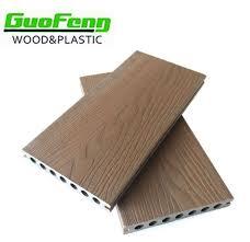 Co Extrusion Wood Plastic Composite Decking Engineered Outdoor Flooring Waterproof