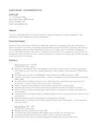 Awesome Collection Of Resume Telephone Representative Sales Example Examples Templates