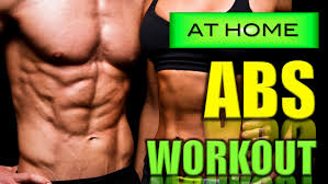 BEST ABS EXERCISES AT HOME