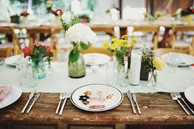 I Love Farm Tables For So Many Reasons The Distressed Natural Wood Vibe Will Bring Outdoors To Your Unique Wedding Reception In A Flash