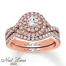 Neil Lane Engagement Ring 7 8 ct tw Diamonds 14K Rose Gold