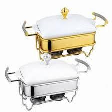 Ceramic Porcelain Food Warmer Chafing Dish China
