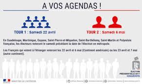horaire ouverture bureau de vote election présidentielle en martinique dates et horaires d
