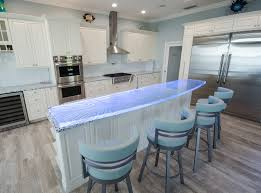 100 Kitchen Glass Countertop Kiln Carving To Create A Dazzling Textured