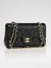Chanel 255 Black Quilted Small Classic Bag The Every Woman Yearns To Have