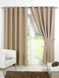 Thermal Lined Curtains Australia by Pair Of Beige 90