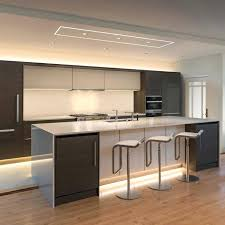 black kitchen ideas and also led recessed lighting for kitchen