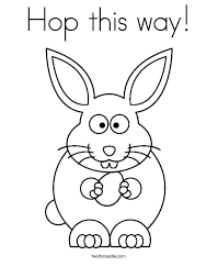 An Easter Bunny Holding Egg With The Phrase