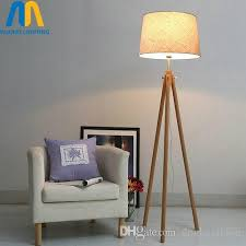 2018 Modern Led Wooden Design Floor Lamps Standing Lamp Japan With Cloth Shade For Living Room Bedroom Dining Study From Dpgkevinfan
